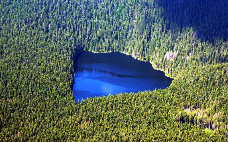 Η Λίμνη του Διαβόλου στη Βοημία...