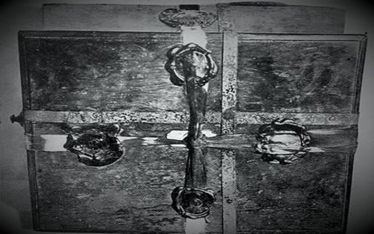 Το ιερό κιβώτιο των Άγγλων που περιείχε τις θεραπείες για κάθε ασθένεια...