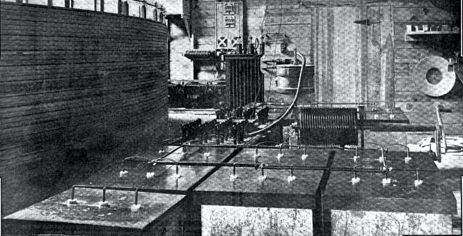 Μέρος του εξοπλισμού του Νικολά Τέσλα που χρησιμοποιήθηκε στα πειράματά του