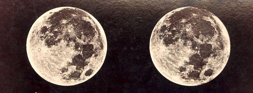 Φωτογραφία της Σελήνης του 1900