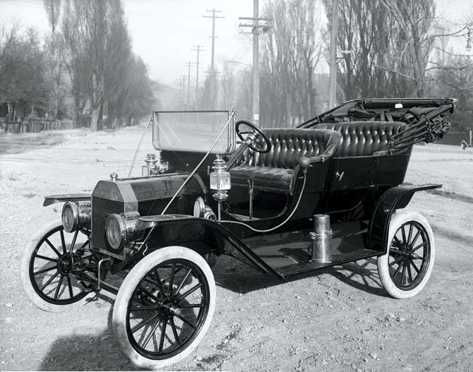 Το μοντέλο Τ της αυτοκινητοβιομηχανίας Ford, 1910