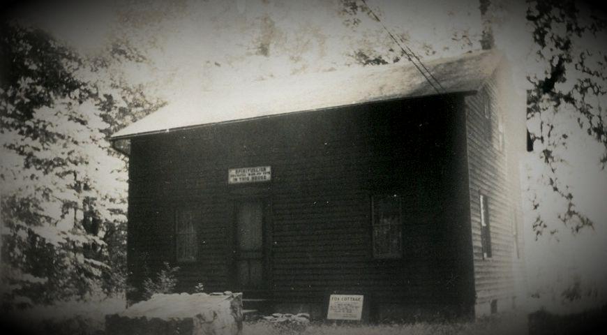 Το σπίτι της οικογένειας Fox, στο Hydesville της Νέας Υόρκης