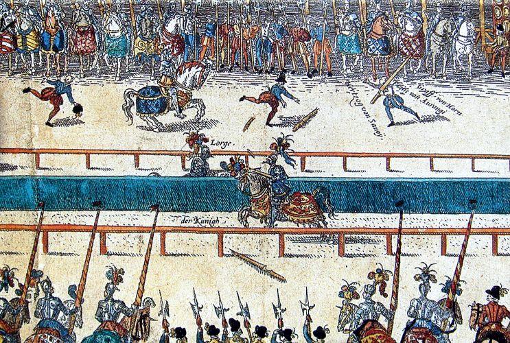 Η μοιραία μονομαχία μεταξύ του Ερρίκου Β' και του Gabriel Montgomery
