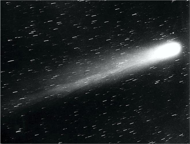 Φωτογραφία του κομήτη του Χάλεϋ, 1910
