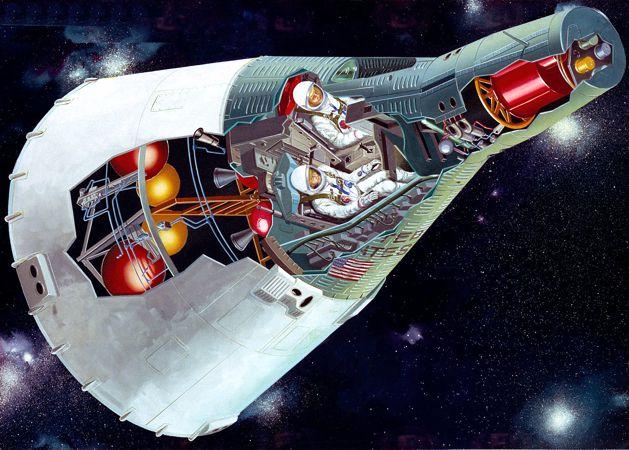 Γραφική απεικόνιση της κάψουλας του Gemini