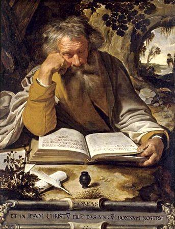 Ο Άγιος Ανδρέας, πίνακας του Φλαμανδού ζωγράφου Artus Wolffort (1581 - 1641)