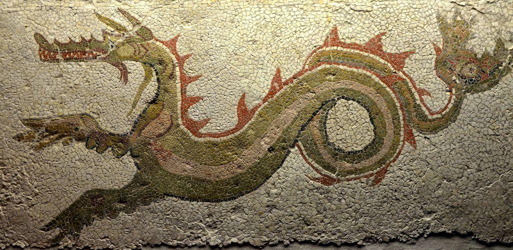Ψηφιδωτό του 3ου π.Χ. αιώνα από την Μεγάλη Ελλάδα στην Κάτω Ιταλία