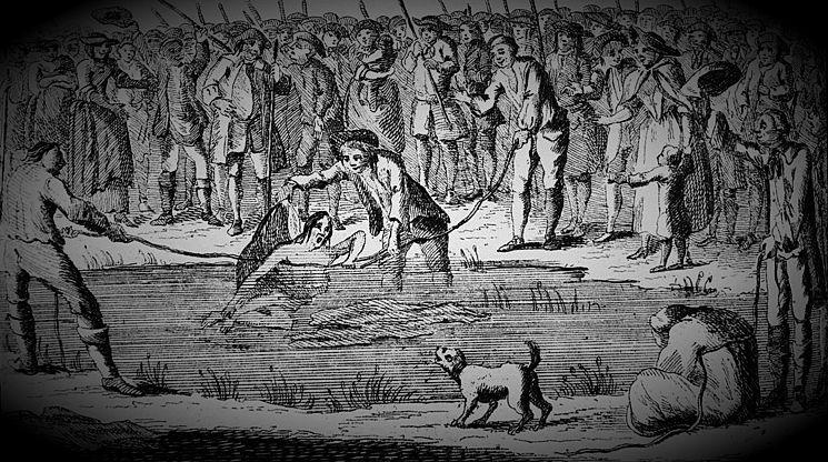 Πνιγμός σε ποτάμι κατηγορούμενης ως μάγισσας