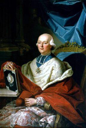 Καρδινάλιος Louis de Rohan (25/09/1734 - 16/02/1803)