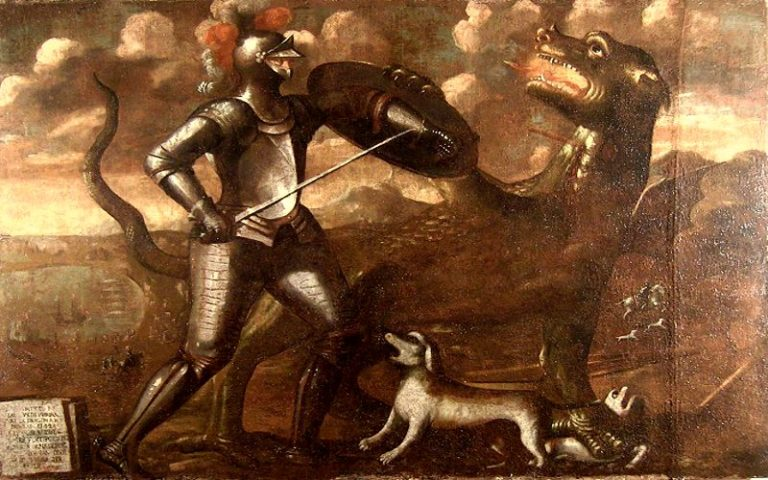Ο ιππότης που σφαγίασε τον τρομερό Δράκο της Ρόδου, το 1342...