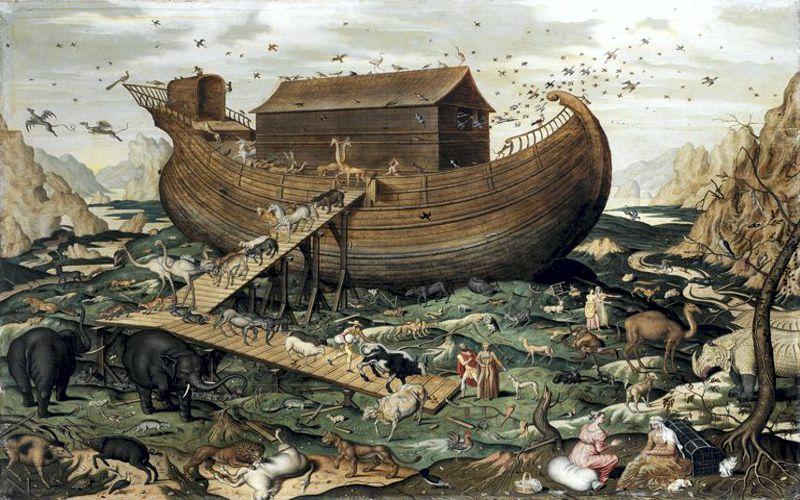 Οι έρευνες για την Κιβωτό του Νώε...