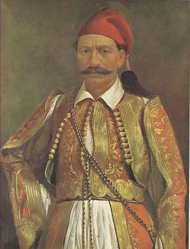 """Κομνηνός """"Κομνάς"""" Τράκας (1786 - 1840)"""