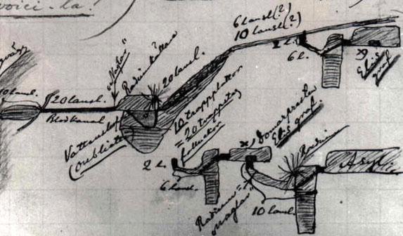 Απόσπασμα από το χειρόγραφο του Walter Juvelius