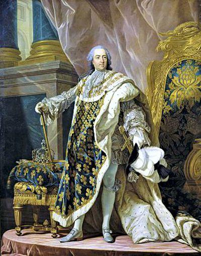 Λουδοβίκος 15ος (10/02/1710 - 10/05/1774)
