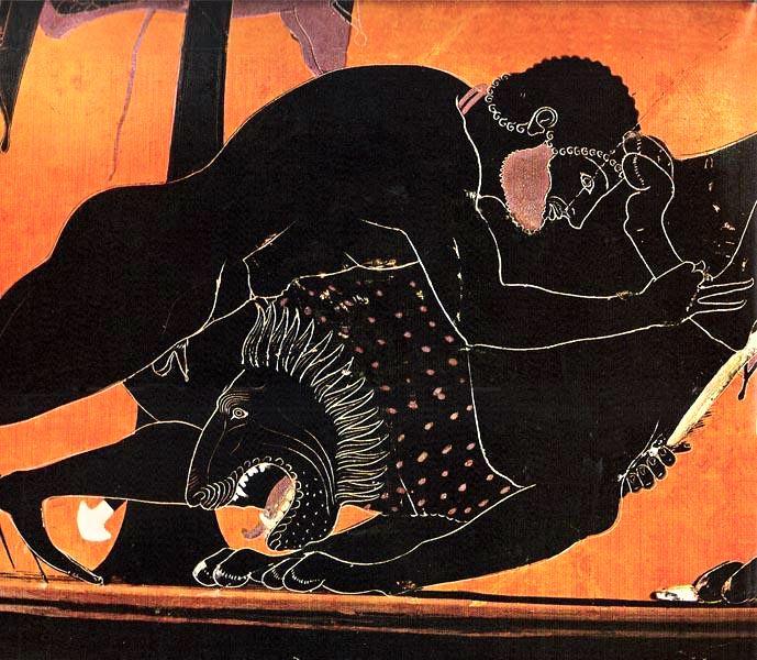 Ο Ηρακλής και το Λιοντάρι της Νεμέας