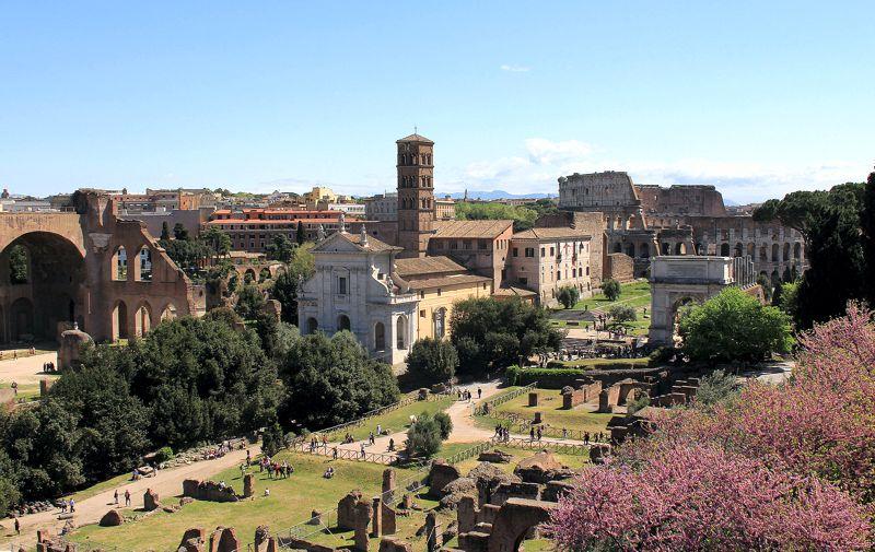 Αγία Φραντσέσκα Ρομάνα, Ρώμη