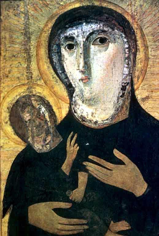 Η εικόνα της Παναγίας στην Αγία Φραντσέσκα Ρομάνα στη Ρώμη