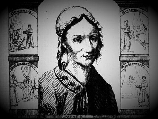 Τα εγκλήματα της Margarethe Timm, σε λιθογραφία εποχής