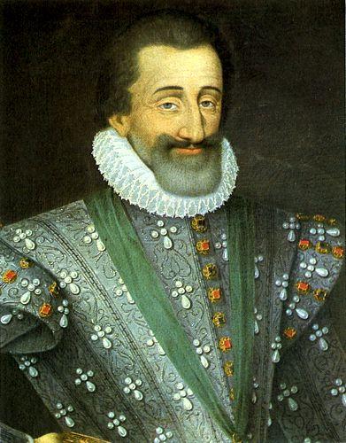 Ερρίκος Δ' (13/12/1553 - 14/05/1610)