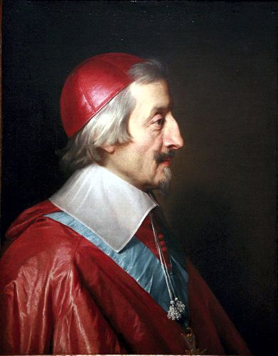 Καρδινάλιος Ρισελιέ (09/09/1585 - 04/12/1642)