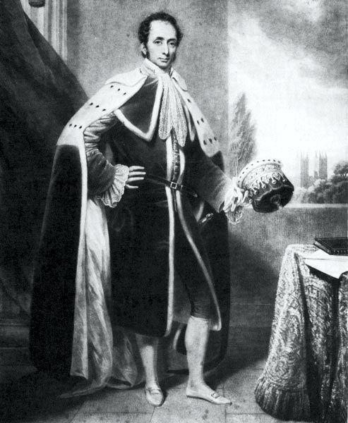 Κόμης Philip Henry Stanhope (07/12/1781 - 02/03/1855)