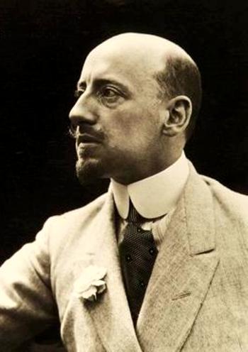 Gabriele D'Annunzio (12/03/1863 - 01/03/1938)