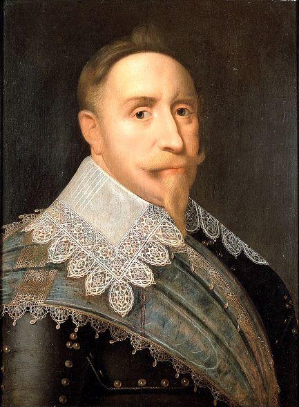 Ο Βασιλιάς της Σουηδίας, Γουσταύος Αδόλφος (09/12/1594 - 06/11/1632)