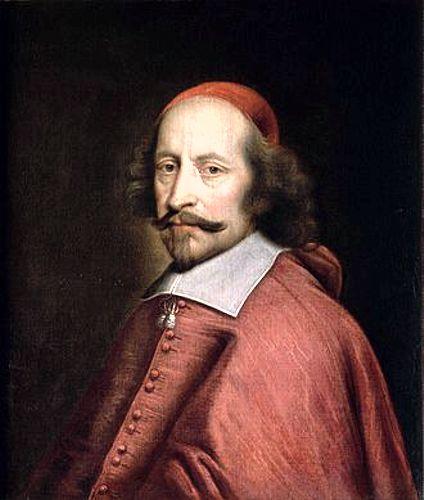 Καρδινάλιος Mazarin (14/07/1602 - 09/03/1661)