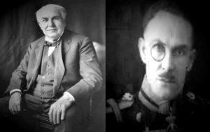 """Η συνέντευξη του Άγγελου Τανάγρα το 1928 για το """"Τηλέφωνο των Πνευμάτων"""" του Thomas Edison..."""