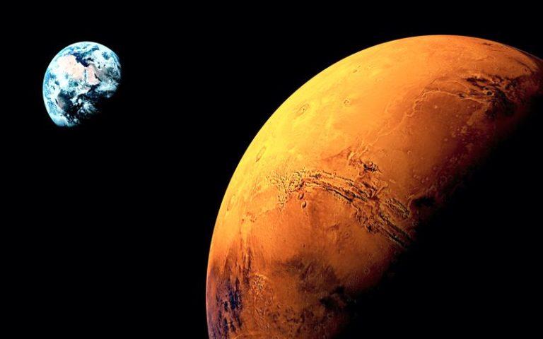 Εντοπισμός τεράστιας κηλίδας στην επιφάνεια του Άρη, το 1955...