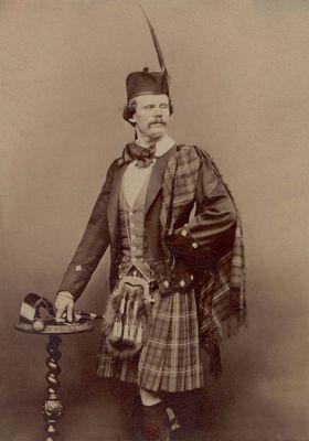 Daniel Dunglas Home (20/03/1833 - 21/06/1886)