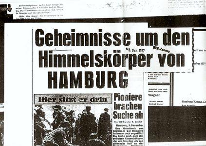 Σχετικό δημοσίευμα της εφημερίδας BILD-Zeitung, στις 03/12/1957