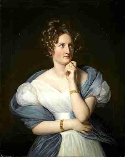 Delphine de Girardin (24/01/1804 - 29/06/1855)