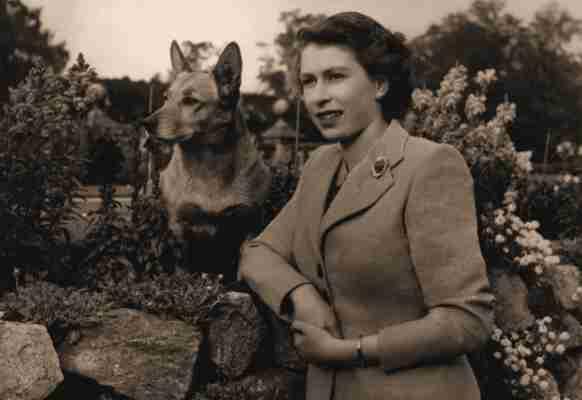 Η Βασίλισσα Ελισάβετ, το 1952