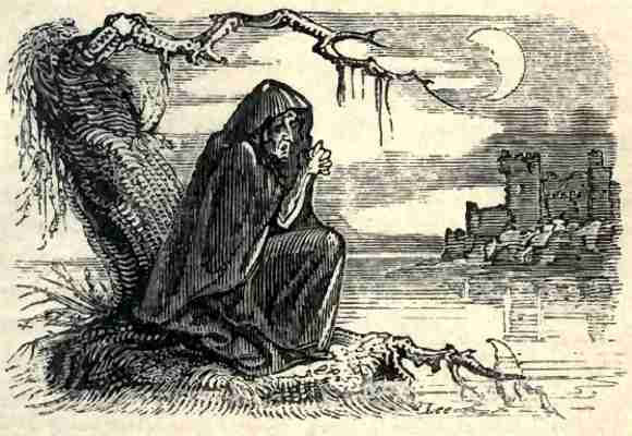 Banshee, θηλυκό πνεύμα της ιρλανδικής παράδοσης, που προμήνυε τον θάνατο. Είδος banshee θεωρείται και το Κέινε (Caoineadh).