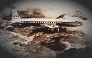 Θέαση Α.Τ.Ι.Α. από πτήση της Pan American Airways, το 1959...