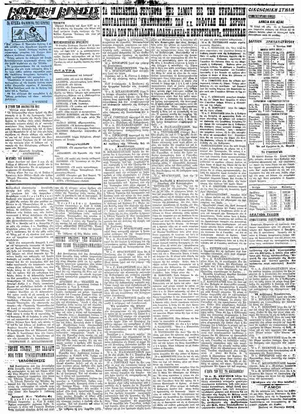 """Το άρθρο, όπως δημοσιεύθηκε στην εφημερίδα """"ΕΜΠΡΟΣ"""", στις 07/06/1925"""