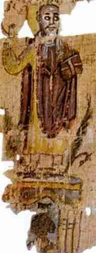 Πατριάρχης Θεόφιλος, ο 23ος. Άγνωστη ημερομηνία γεννήσεως, πέθανε στις 15/10/412