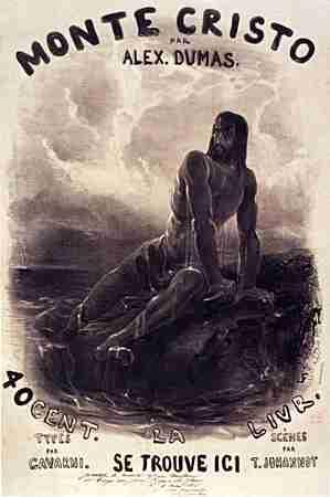 """Το εξώφυλλο του βιβλίου του Αλέξανδρου Δουμά """"Ο Κόμης του Monte Cristo"""""""
