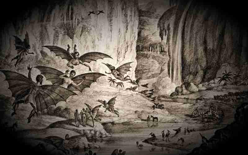 Θέαση φτερωτού ανθρωποειδούς στην Κω, το 1954...
