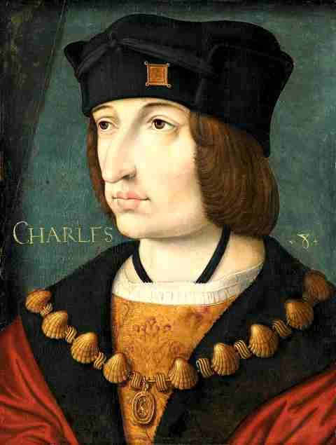 Κάρολος Η' (30/06/1470 - 07/04/1498)