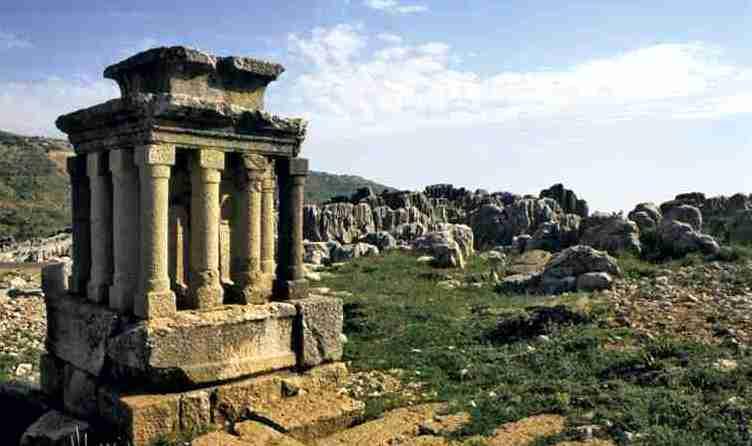 Ιερό του Άδωνι, Λίβανος