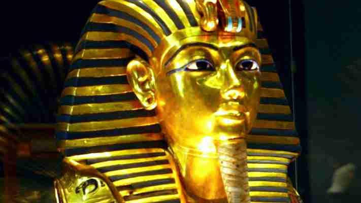 Η χρυσή μάσκα του Φαραώ Τουταγχαμών, Μουσείο Καΐρου