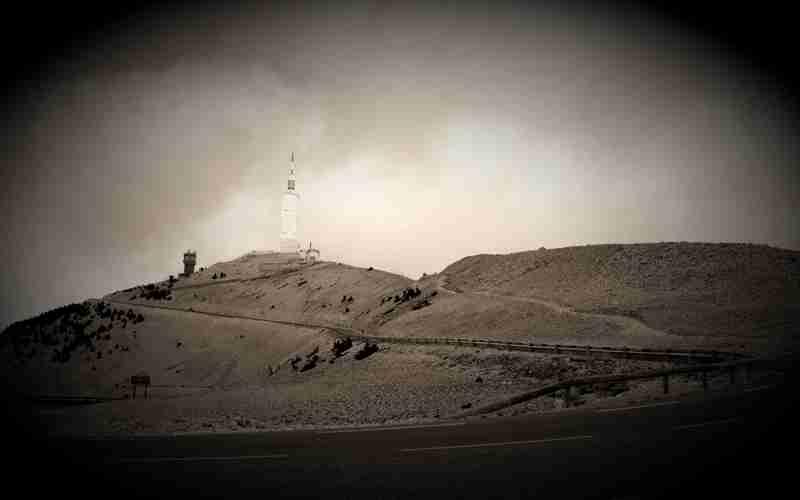 Α.Τ.Ι.Α. πάνω από το Αστεροσκοπείο του Όρους Ventoux της Νότιας Γαλλίας, το 1954…