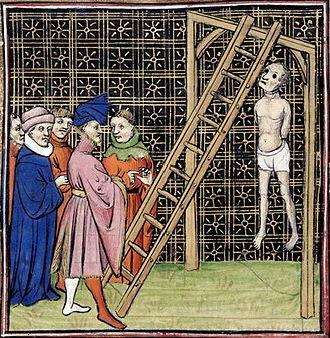 Η εκτέλεση του Enguerrand de Marigny