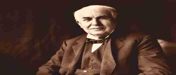 Thomas Edison (11/02/1847 - 08/10/1931)
