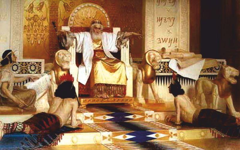 Τα θρυλικά ορυχεία του Βασιλιά Σολομώντα...