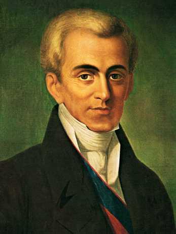 Ιωάννης Καποδίστριας (10/02/1776 - 27/09/1831)