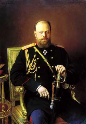 Αλέξανδρος Γ' (10/03/1845 - 01/11/1894), πατέρας του Νικολάου Β'