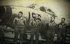 Καταδίωξη στολίσκου μαχητικών αεροσκαφών από Α.Τ.Ι.Α., το 1957...